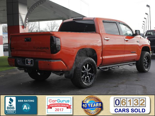 2017 Toyota Tundra LIMITED PREMIUM EDITION CrewMax 4x4 - LIFTED! Mooresville , NC 2