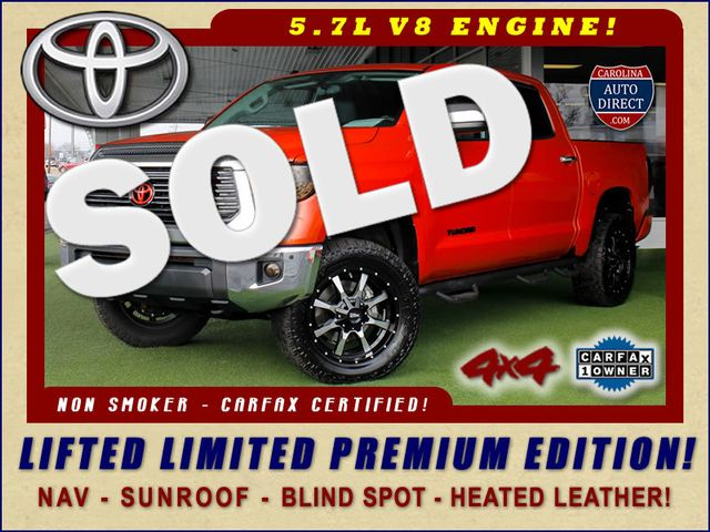 2017 Toyota Tundra LIMITED PREMIUM EDITION CrewMax 4x4 - LIFTED! Mooresville , NC 0