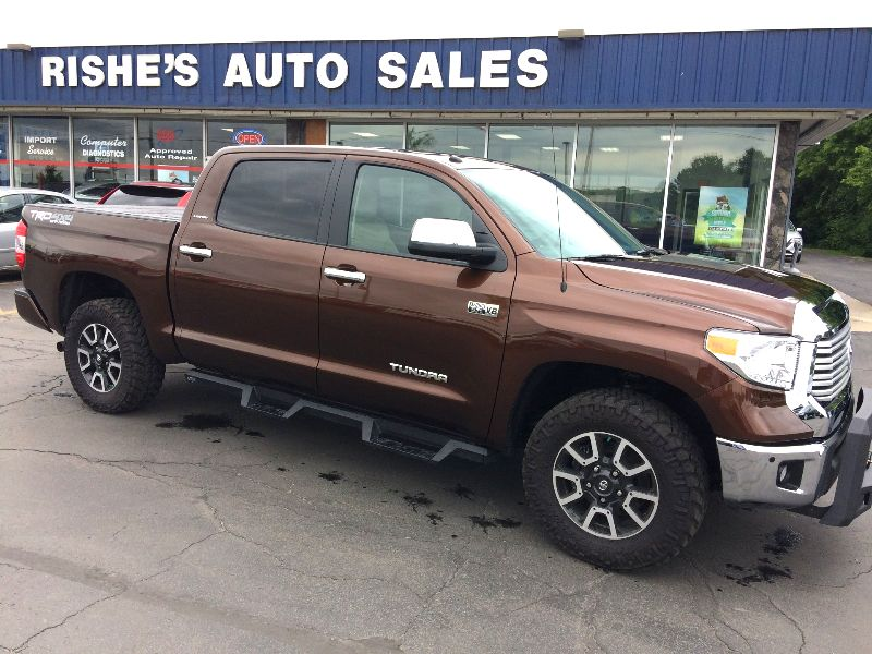 2017 Toyota Tundra TRD Limited | Rishe's Import Center in Ogdensburg New York