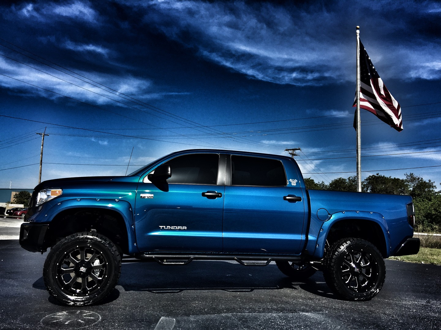 Toyota Of Tampa Bay >> 2017 Toyota Tundra CUSTOM LIFTED LEATHER CREWMAX 4X4 Florida Bayshore Automotive