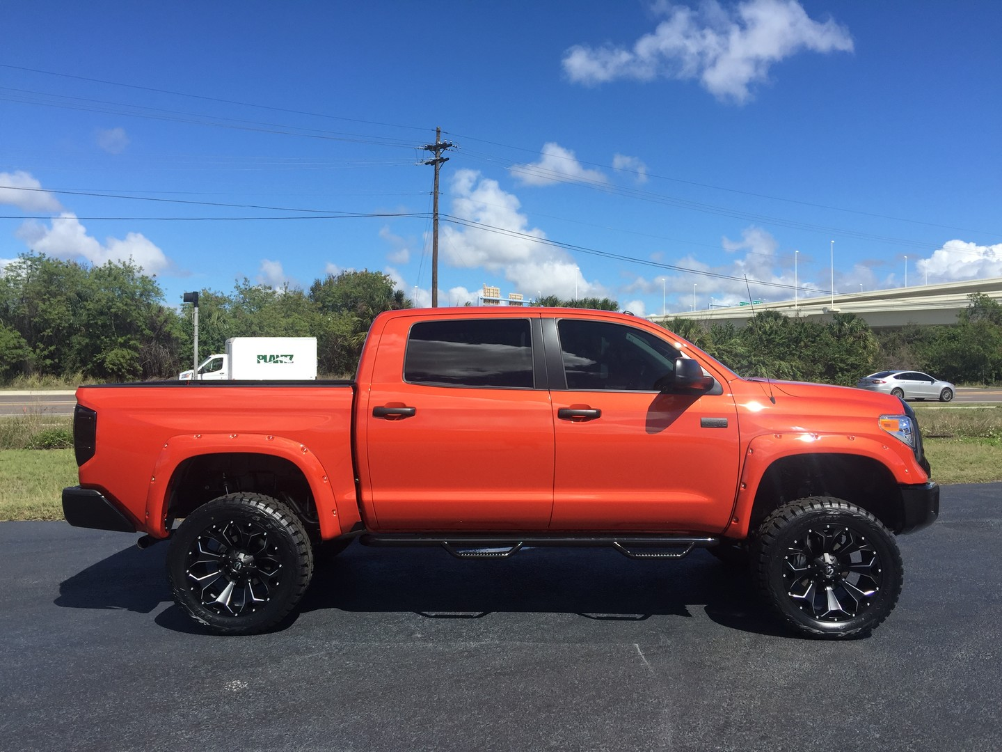 2017 toyota tundra custom lifted inferno crewmax 4x4 florida bayshore automotive. Black Bedroom Furniture Sets. Home Design Ideas