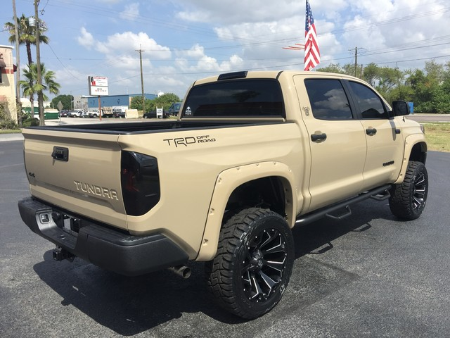 2017 Toyota Tundra CUSTOM LIFTED QUICKSAND LEATHER | eBay