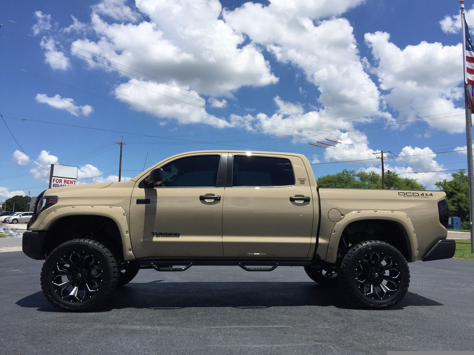 2017 toyota tundra custom lifted crewmax 4x4 v8 leather florida bayshore automotive. Black Bedroom Furniture Sets. Home Design Ideas