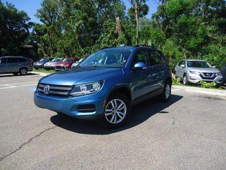 2017 Volkswagen Tiguan 2.0T LEATHER. CAMERA. HTD SEATS SEFFNER, Florida 4
