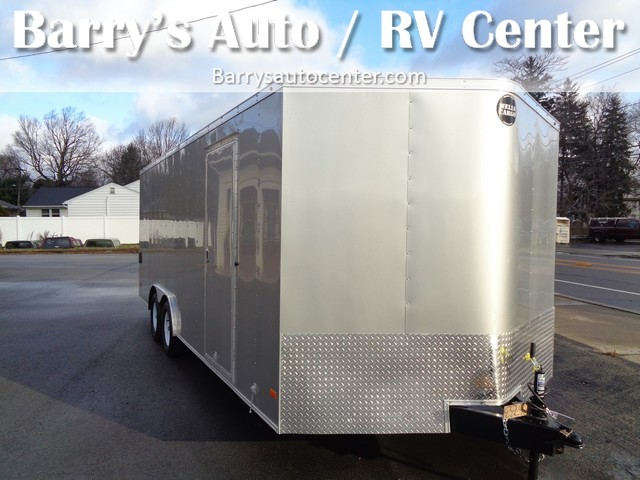 2017 Wells Cargo CargoTrac 85x20 FT85202  city NY  Barrys Auto Center  in Brockport, NY