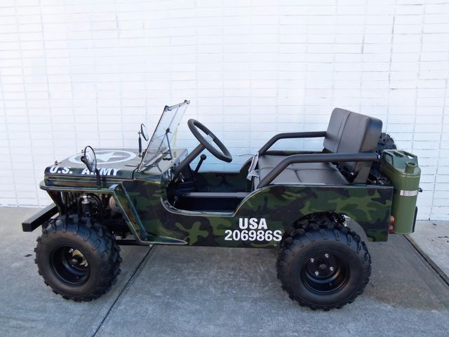 2017 Zhejiang Mini Jeep 125cc Daytona Beach, FL 1