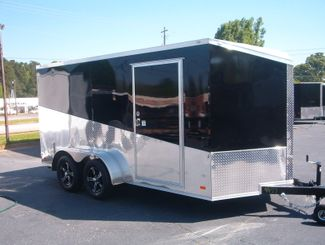 2018 Covered Wagon Enclosed 7x14 Motorcycle Trailer in Madison, Georgia