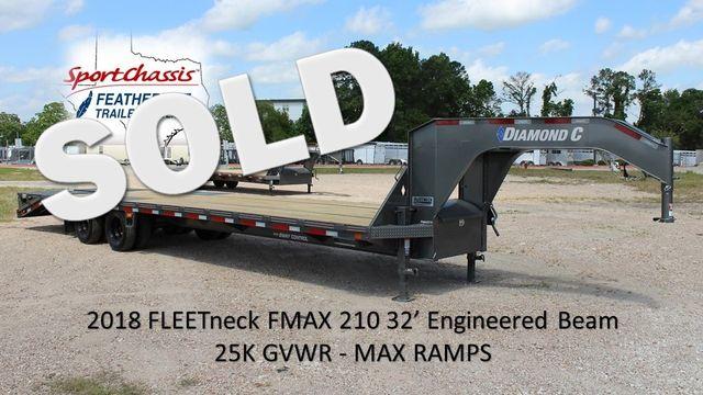 2018 Diamond C FMAX 210 32 X 102 CONROE, TX 0