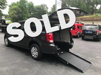 2018 Dodge Grand Caravan Handicap wheelchair accessible rear entry van Dallas, Georgia