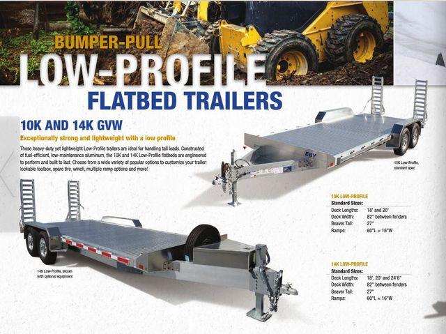 2018 Eby Low-Profile 14k Equipment CONROE, TX 2
