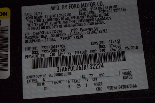 2018 Ford Fusion Hybrid SE Richmond Hill, New York 34