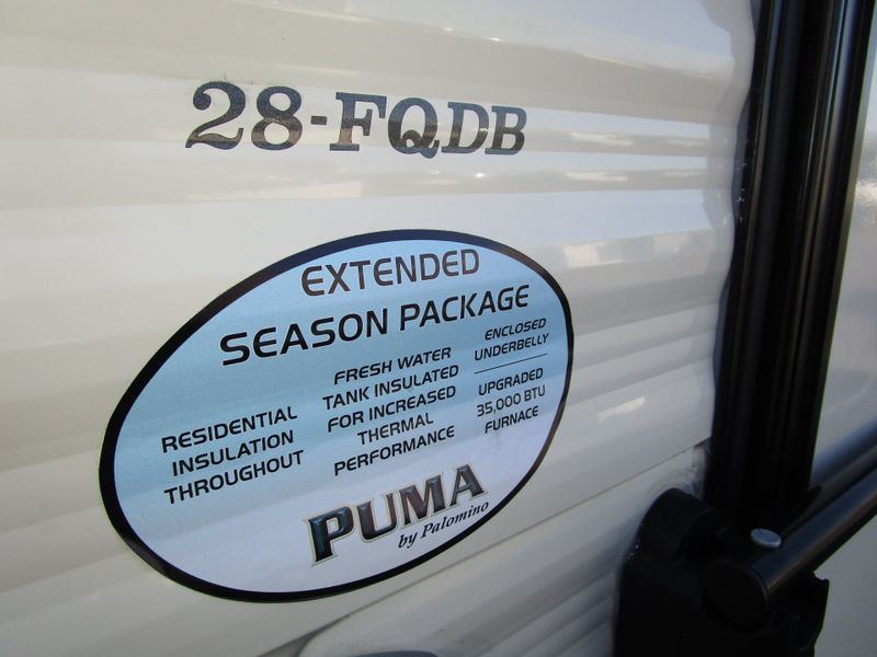 2018 Forest River Puma 28FQDB  in Charleston, SC