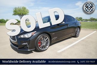 2018 Infiniti Q50 RED SPORT 400 ONLY 850 MILES in Garland