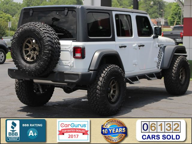 2018 Jeep All-New Wrangler Unlimited Sport S 4x4 - LIFTED CAD OFF-ROAD EDITION! Mooresville , NC 2