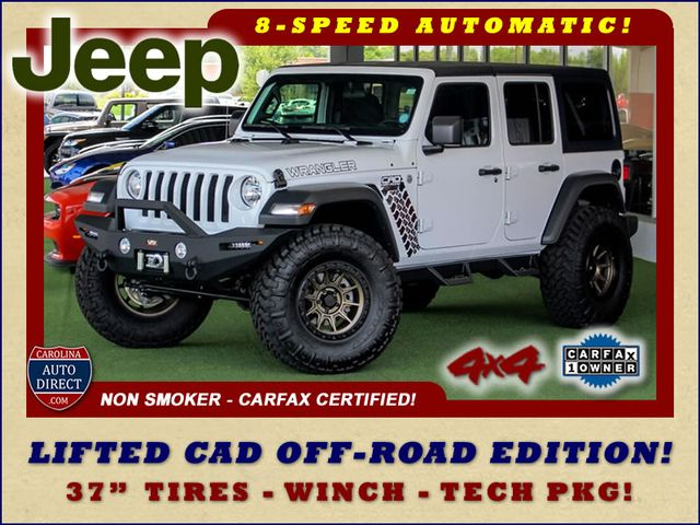 2018 Jeep All-New Wrangler Unlimited Sport S 4x4 - LIFTED CAD OFF-ROAD EDITION! Mooresville , NC 0