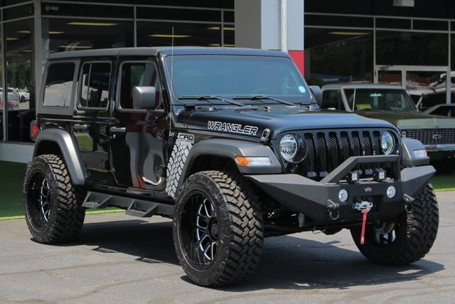 2018 Jeep All-New Wrangler Unlimited Sport S 4x4 - LIFTED CAD OFF-ROAD EDITION! Mooresville , NC 22