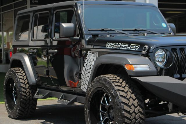 2018 Jeep All-New Wrangler Unlimited Sport S 4x4 - LIFTED CAD OFF-ROAD EDITION! Mooresville , NC 26