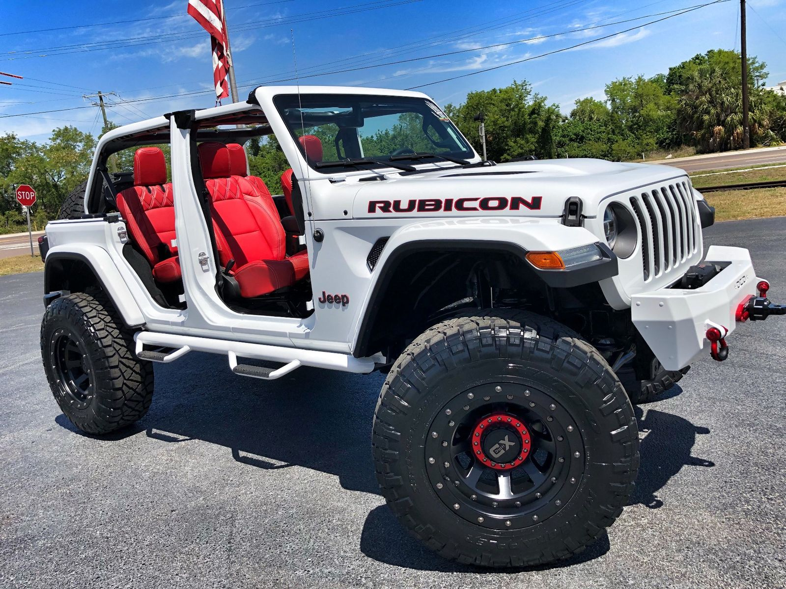 2018 jeep all new wrangler unlimited rubicon jl custom. Black Bedroom Furniture Sets. Home Design Ideas