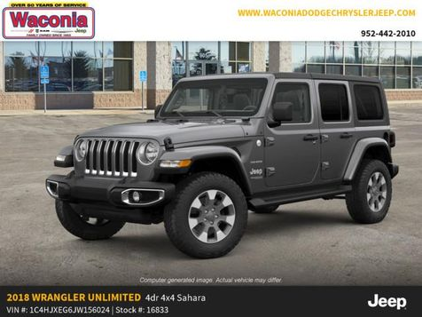2018 Jeep All-New Wrangler Unlimited Sahara in Victoria, MN