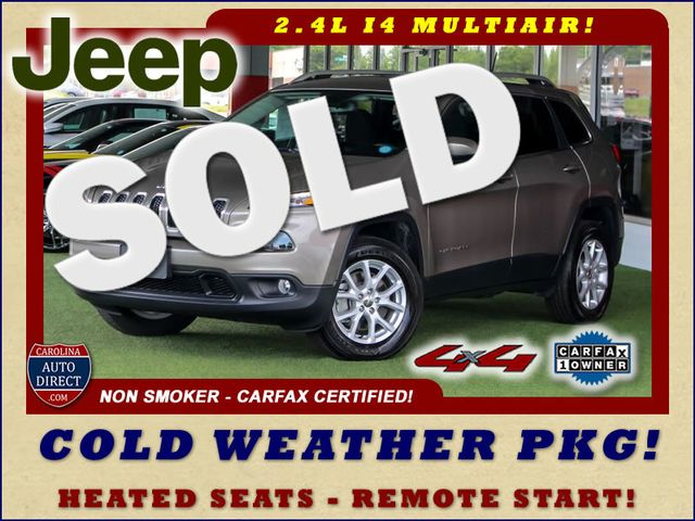 2018 Jeep Cherokee Latitude 4x4 - COLD WEATHER GROUP! Mooresville , NC 0