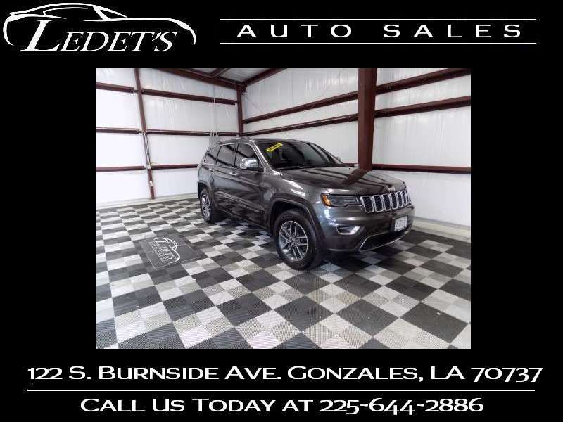 2018 Jeep Grand Cherokee Limited - Ledet's Auto Sales Gonzales_state_zip in Gonzales Louisiana