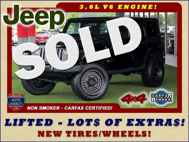 2018 Jeep Wrangler JK Unlimited Sahara 4X4 - LIFTED - EXTRA$! Mooresville , NC 0