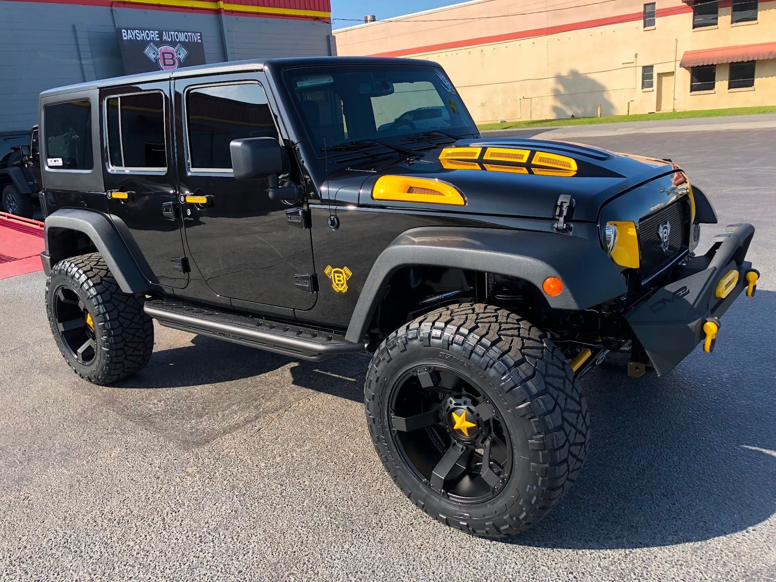 2018 jeep wrangler jk unlimited rubicon custom lifted 4x4 florida bayshore automotive. Black Bedroom Furniture Sets. Home Design Ideas