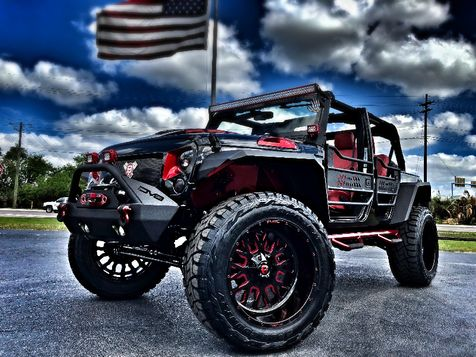 2018 Jeep Wrangler JK Unlimited RUBICON CUSTOM LIFTED LEATHER  in , Florida