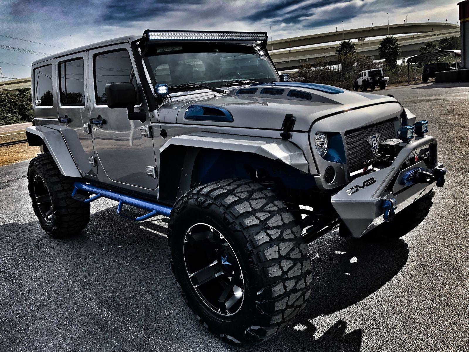 Rubicon X Front Bumper >> 2018 Jeep Wrangler JK Unlimited RUBICON JK CUSTOM LIFTED 38S LEATHER HARDTOP Florida Bayshore ...