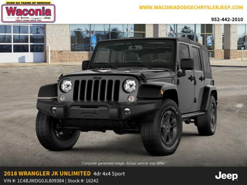 2018 Jeep Wrangler JK Unlimited Freedom Edition  in Victoria, MN