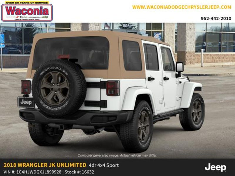 2018 Jeep Wrangler JK Unlimited Golden Eagle  in Victoria, MN