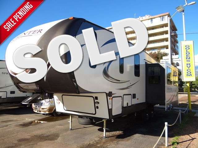 2018 Keystone Sprinter 269FW 2 Slides - 0 Degree - Auto Lvl Solid Counters - Fireplace - Chef Kitchen | Colorado Springs, CO | Golden's RV Sales in Colorado Springs CO