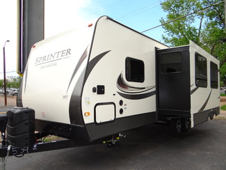 2018 Keystone Sprinter Campfire Edition 26RB Slide-Out Ext Kitchen | Colorado Springs, CO | Golden's RV Sales in Colorado Springs CO