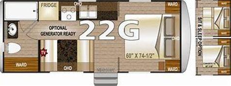 2018 Northwood Arctic Fox 22G Thermal Pane Windows in , Colorado