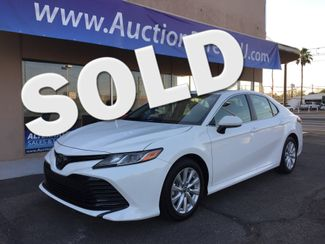 2018 Toyota Camry LE FULL MANUFACTURER WARRANTY Mesa, Arizona