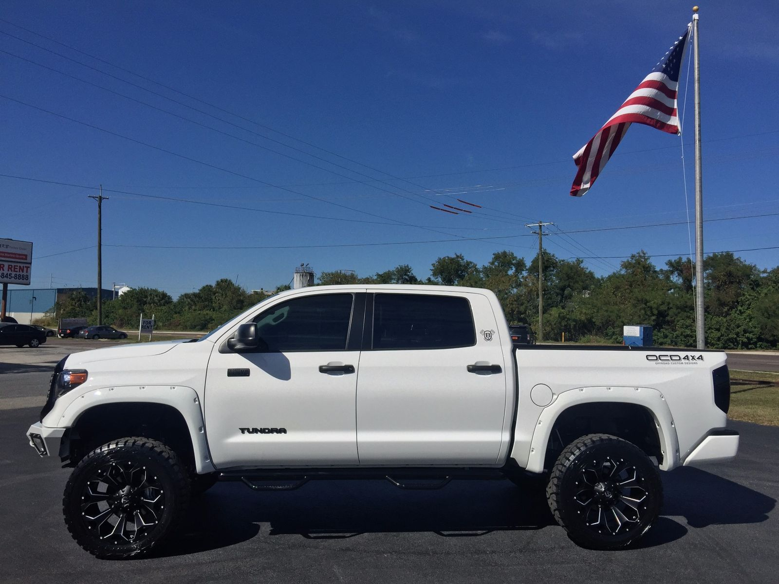 Toyota Of Tampa Bay >> 2018 Toyota Tundra USTOM LIFTED CREWMAX LEATHER 4X4 V8 Florida Bayshore Automotive