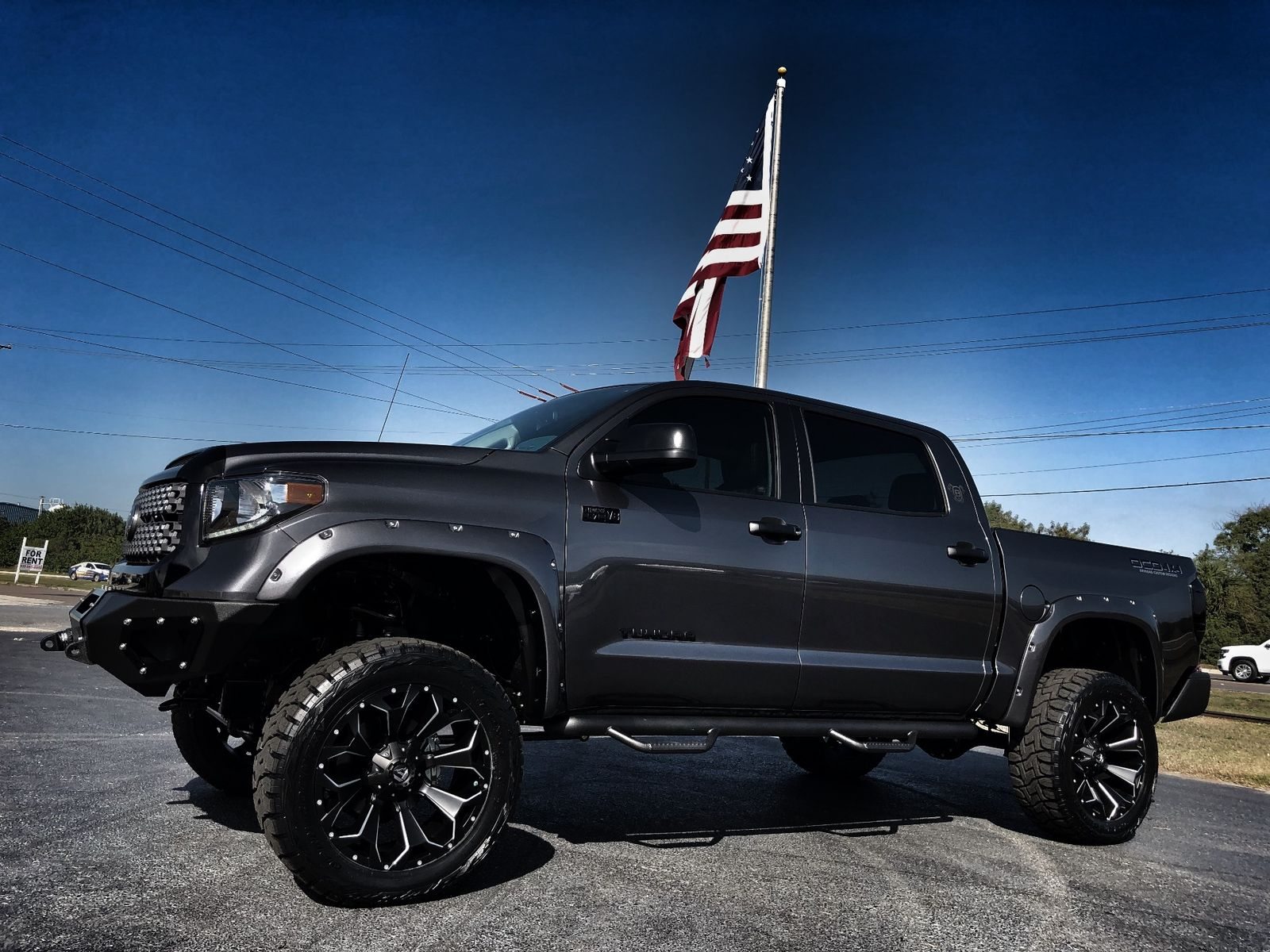 2018 Toyota Tundra CUSTOM LIFTED LEATHER CREWMAX 4X4 V8 ...